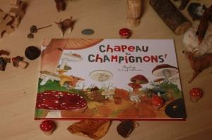 livre chapeau les champinons ohé la science édition du ricochet  blog planete parentage